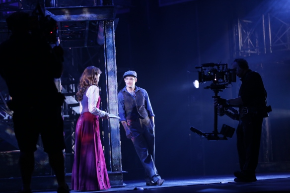 newsies_filming_jeremyjordan_karalindsay_photo_by_disneytheatricalproductions-2