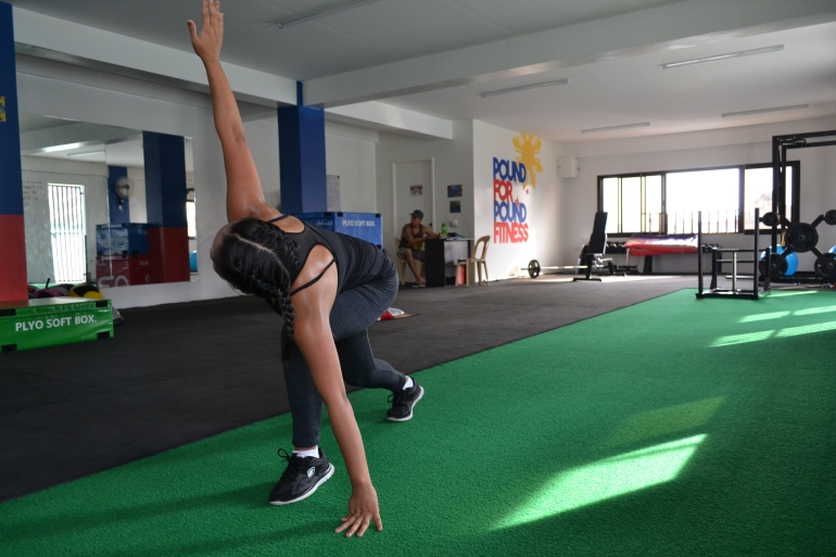 Pound for Pound Fitness in Baliuag Warm Up