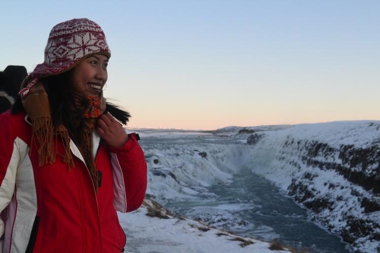 Judeebee Gullfoss Waterfall