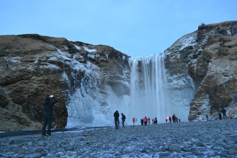 Skógafoss Waterfall Judeebee