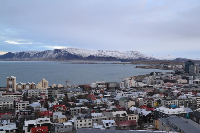 At the Top of Hallgrímskirkja